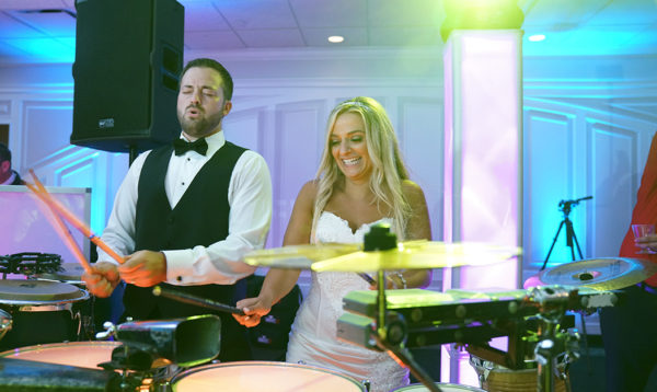 Bride and Groom Drums